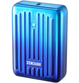 Zendure Zendure SuperMini Credit Card Size Charger with PD 10,000mAh - Blue