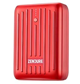 Zendure Zendure SuperMini Credit Card Size Charger with PD 10,000mAh - Red