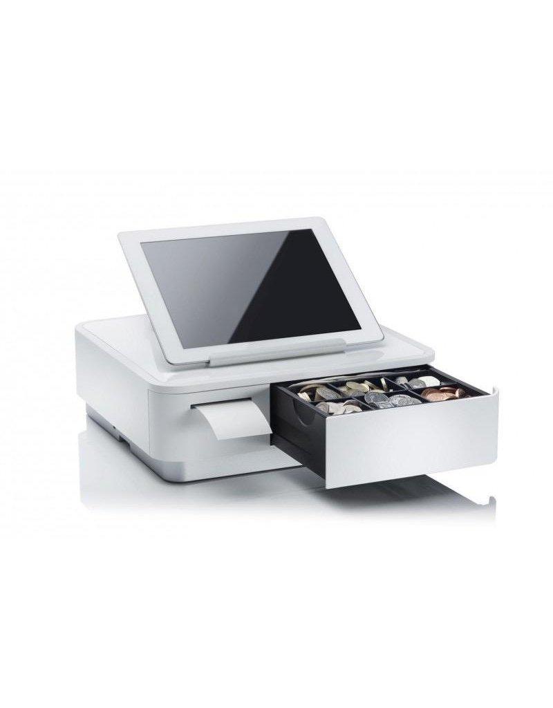 Star Micronics Star Micronics mPOP POS Multifunction Receipt Printer Bluetooh/USB - White