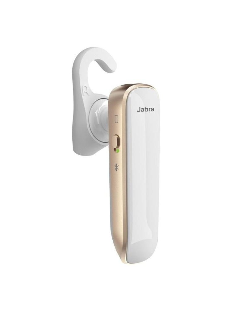 Jabra Jabra Boost Just Talk And Day Long Bluetooth Headset - White/Gold