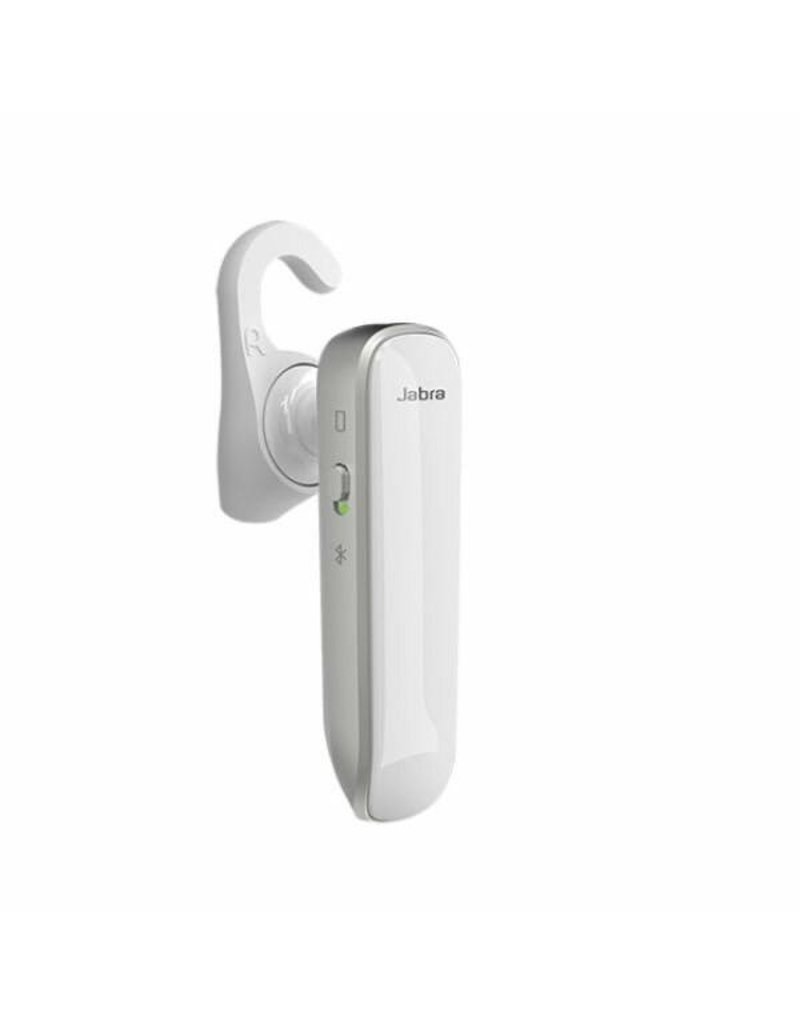 Jabra Jabra Boost Just Talk And Day Long Bluetooth Headset - White/Silver