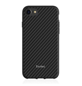 Evutec Evutec Aer Karbon Series for IPhone 6/6s/7/8/SE (AFIX Included) -  Black