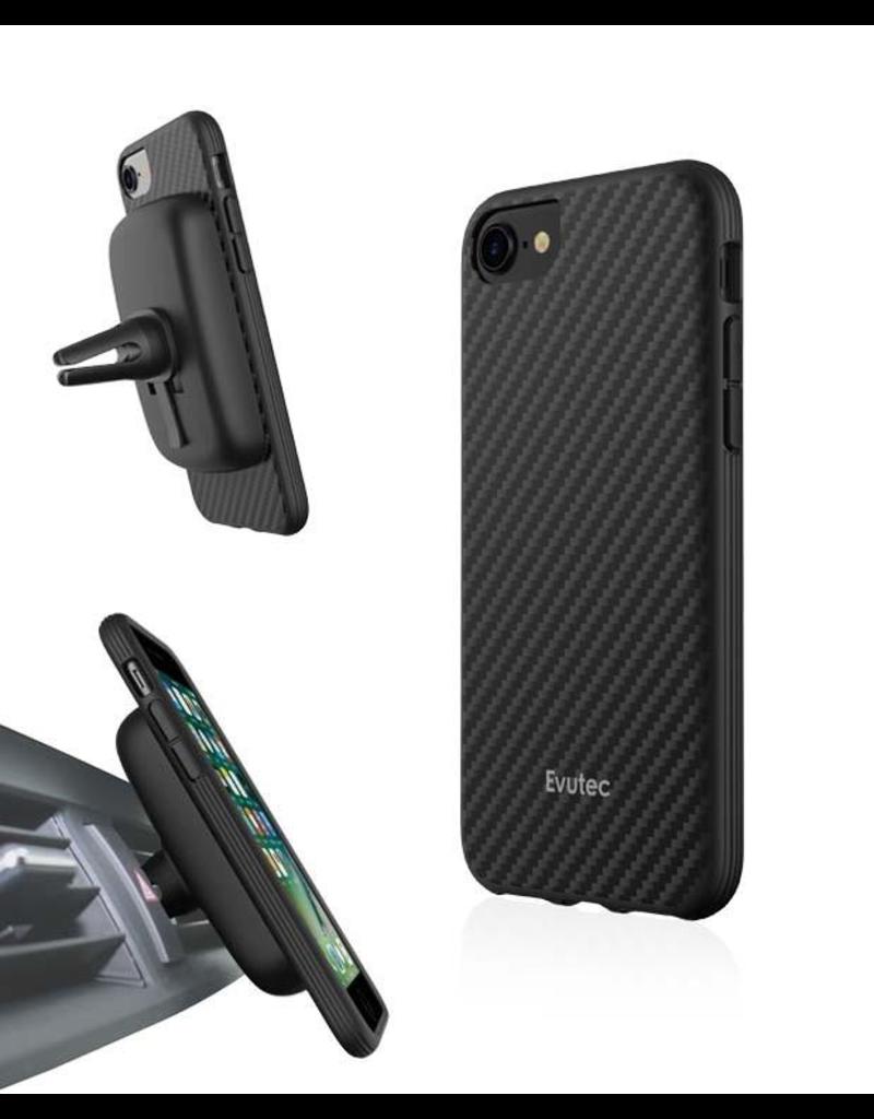 Evutec Evutec Aer Karbon Series for IPhone 6/6s/7/8/SE (AFIX Included) -  Black