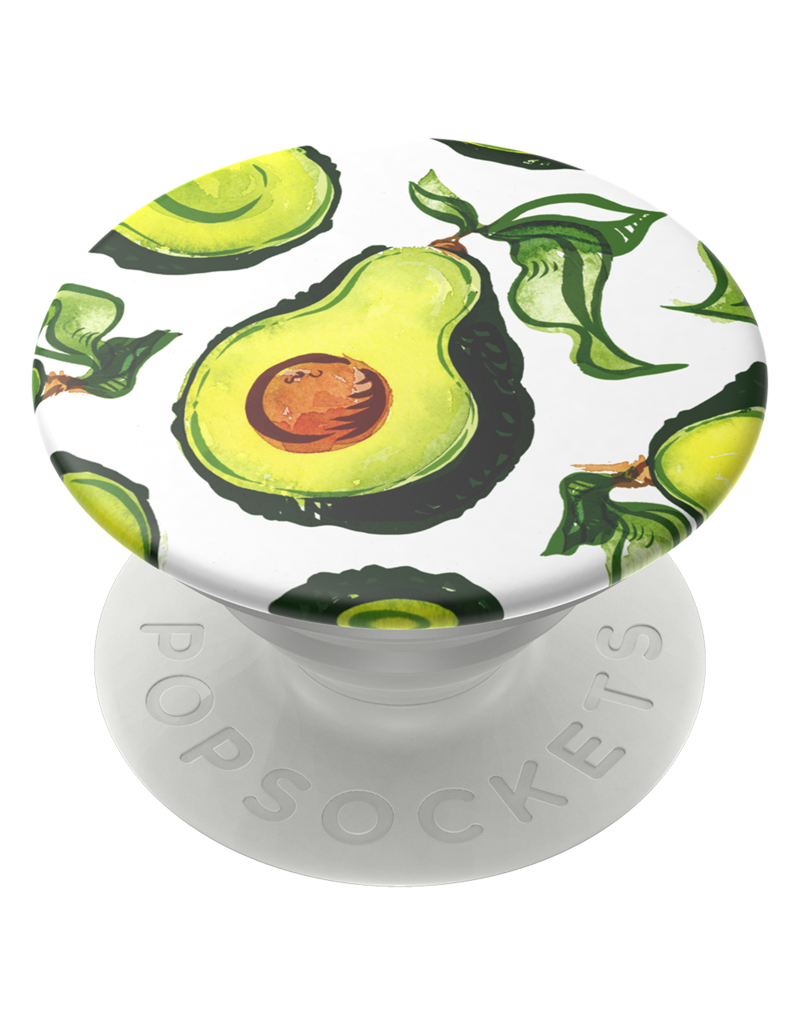 PopSockets PopSockets PopGrip Icon Swappable Device Stand and Grip - Guac Vintage Pearl