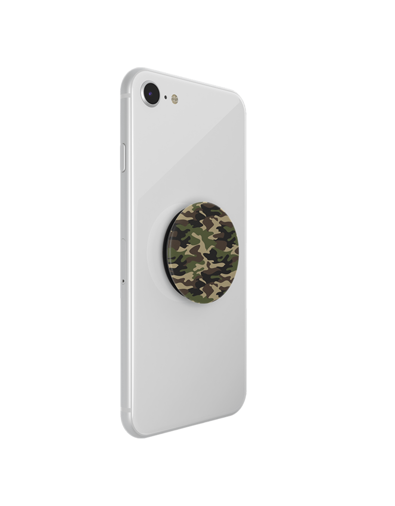 PopSockets PopSockets PopGrip Patterns Swappable Device Stand and Grip - Woodland Camo