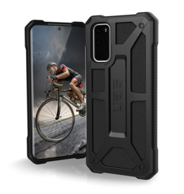 UAG Urban Armor Gear (UAG) - Monarch Case for Samsung Galaxy S20 - Black