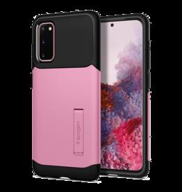 Spigen Spigen Slim Armor Case for Samsung Galaxy S20 - Rusty Pink