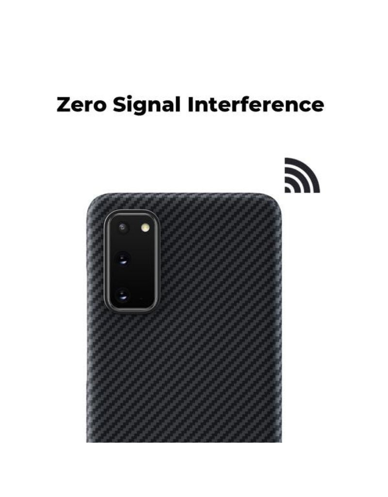 Pitaka Pitaka Aramid Air Case for Samsung Galaxy S20 - Black/Grey Twill