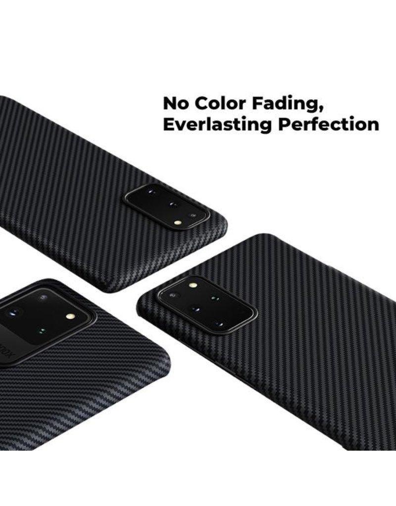 Pitaka Pitaka Aramid Air Case for Samsung Galaxy S20 Plus - Black/Grey Twill