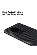 Pitaka Pitaka Aramid Air Case for Samsung Galaxy S20 ultra - Black/Grey Twill
