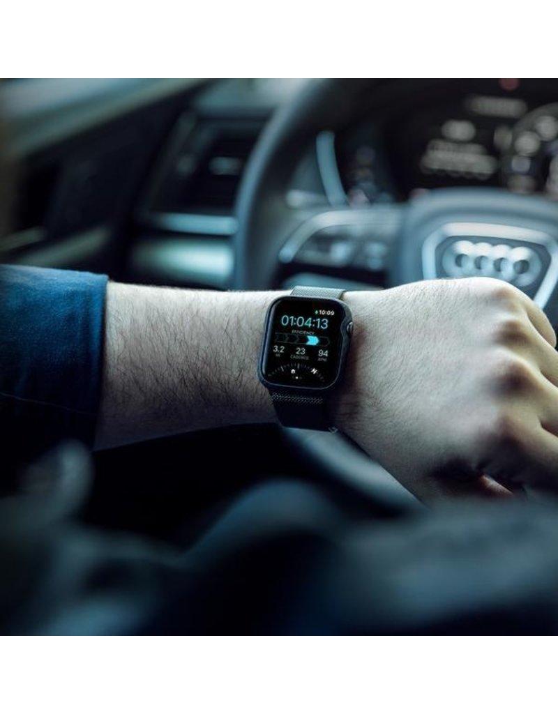 Pitaka Pitaka Air Case for Apple Watch 44mm - Black/Grey Twill