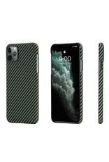 Pitaka Pitaka Aramid MagEZ Case for iPhone 11 Pro - Black/Yellow Twill