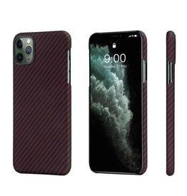 Pitaka Pitaka Aramid MagEz Case for iPhone 11 Pro Max - Black/Red Twill