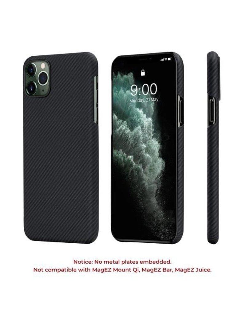 Pitaka Pitaka Aramid Air Case for iPhone 11 Pro - Black/Grey Twill