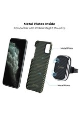 Pitaka Pitaka Aramid MagEZ Case for iPhone 11 Pro Max - Black/Yellow Twill
