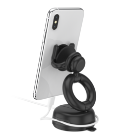 PopSockets PopSockets PopMount Car Dash And Windshield Mount 2 - Black