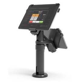 Compulocks Compulocks Pos Kiosk (Single / Dual Screen) Legacy Revel Systems Pole Stand For iPad - Black