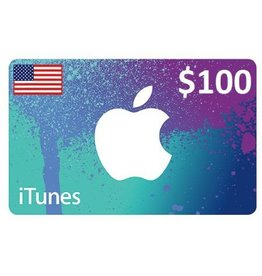 Apple iTunes Gift Card - $100 USA