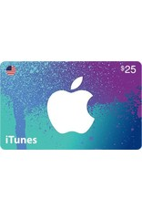 Apple iTunes Gift Card - $25 USA
