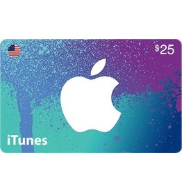 Apple iTunes Gift Card - $25 USA