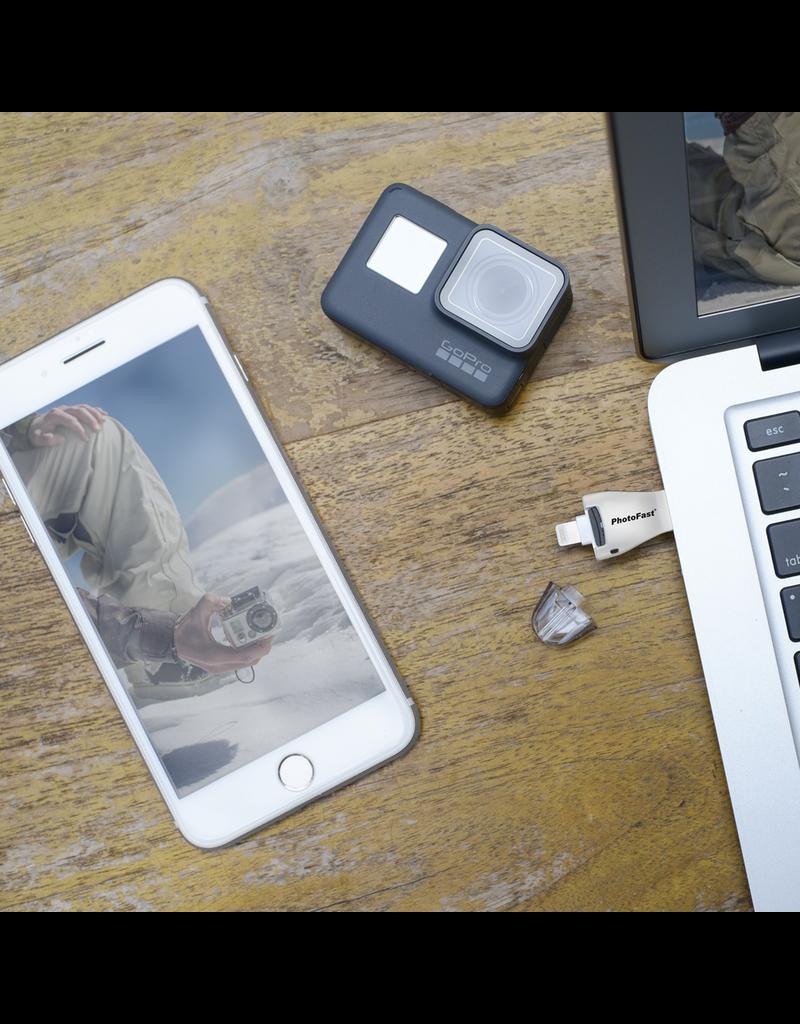 Gigastone 4K iReader Memory Card for Apple Lightning Devices - White