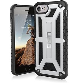 UAG Urban Armor Gear (UAG) Monarch Series Case For iPhone 6s/7/8/SE - Platinum and Black