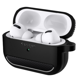 Spigen Spigen Rugged Armor Case for AirPods Pro - Black