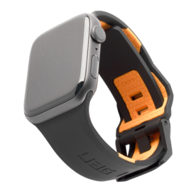 UAG Urban Armor Gear (UAG) Civilian Watchband for Apple Watch 44mm - Black/Orange