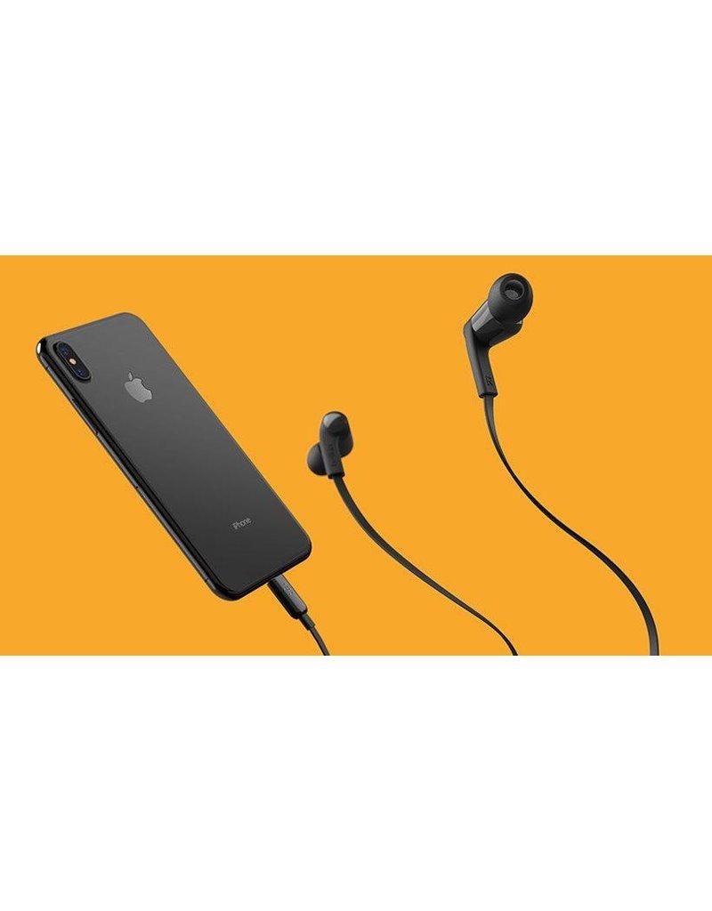 Belkin Belkin Rockstar In-Ear Headphones with Lightning Connector - Black