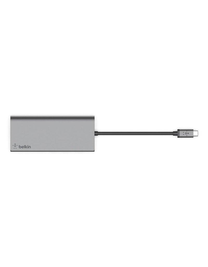 Belkin Belkin USB-C Multimedia Hub HDMI With Power - Space Gray