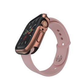 SwitchEasy SwitchEasy Odyssey Metail Case for Apple Watch 40mm  - Flash Rose Gold
