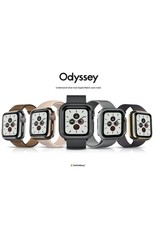 SwitchEasy SwitchEasy Odyssey Metail Case for Apple Watch 40mm - Space Black
