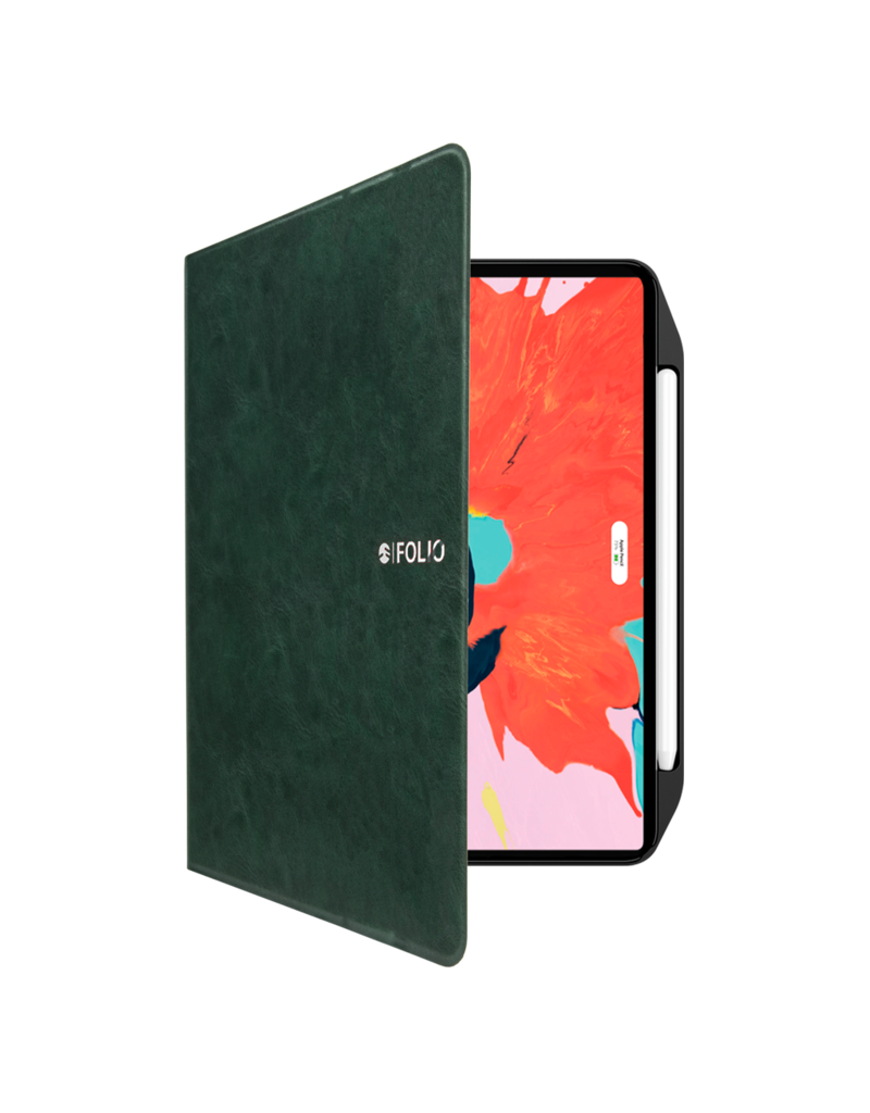 "SwitchEasy SwitchEasy CoverBuddy Folio Lite Case for iPad Pro 12.9"" 4th-Gen - Army green"