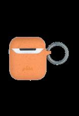 Pela Pela Eco Friendly Case for Apple AirPods 1/2 - Cantaloupe