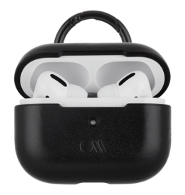 Case Mate Case Mate Leather Case for Apple AirPods Pro - Black