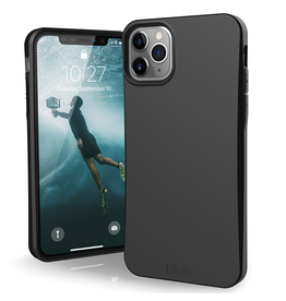 UAG Urban Armor Gear (UAG) Outback Biodegradable Case for Apple iPhone 11 Pro Max- Black