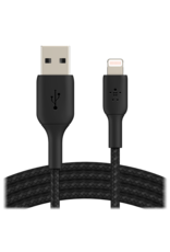 Belkin Belkin Boost Up Charge USB-A to Apple Lightning Braided Cable 3.3ft/1m - Black