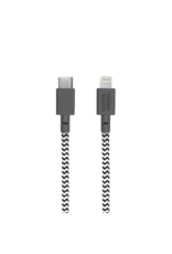 Native Union Native Union Belt Cable USB-C to lightening 1.2m - Zebra