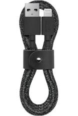 Native Union Native Union Belt Cable USB To Lightning 1.2M - Cosmos Black