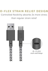 Native Union Native Union Key Cable USB-A To USB-C  - Zebra