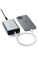 Satechi Satechi Travel Charger 4 Ports  75W PD (2 X USBC - 2 USBA) - Space Gray