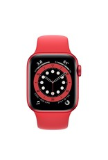 Apple Apple Watch Series 6 GPS, 44mm Aluminum Case with Product Red Sport Band - Product Red