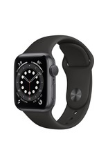 Apple Apple Watch Series 6 GPS, 44mm Aluminum Case with Sport Band - Space Gray