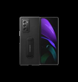Samsung Samsung Galaxy Z Fold 2 5G Aramid Standing Cover - Black<br /> Aramid Standing Cover - Black