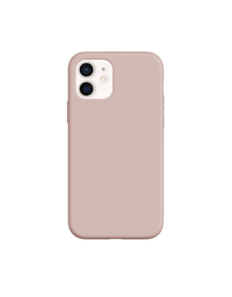 SwitchEasy SwitchEasy Skin Silicone Case for iPhone 12 Mini - Pink Sand