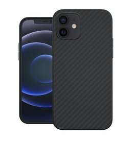 Evutec Evutec Aer Karbon Series With Afix for iPhone 12 Mini - Black