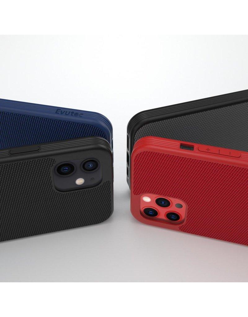 Evutec Evutec Ballistic Nylon Aergo Series Case With Afix for iPhone 12 / 12 Pro - Gray