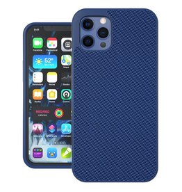 Evutec Evutec Ballistic Nylon Aergo Series Case With Afix for iPhone 12 Pro Max - Blue