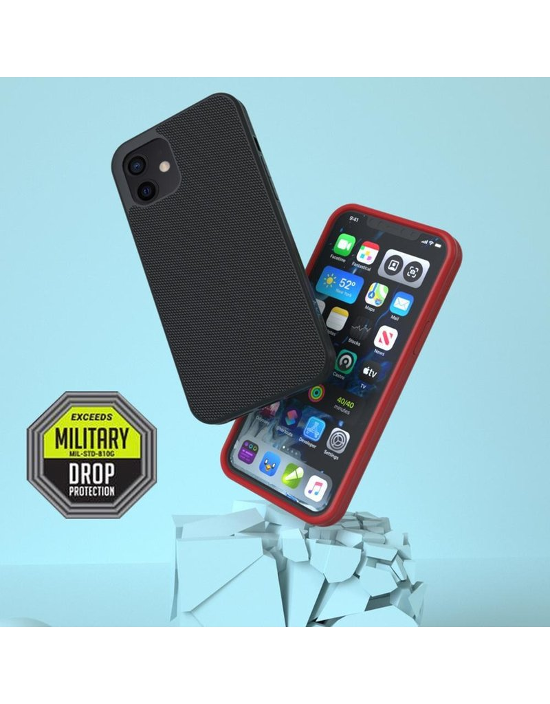Evutec Evutec Ballistic Nylon Aergo Series Case With Afix for iPhone 12 Pro Max - Gray