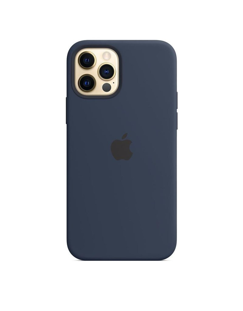 Apple Apple iPhone 12 | 12 Pro Silicone Case with MagSafe - Deep Navy